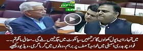 Fight Between Kh Asif & Fawad Ch