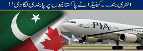 Canada Banned Flights from Ind-PAK