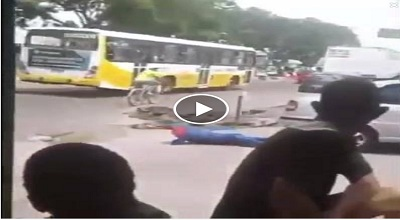 Man tumbled after leaving bus