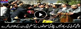 Journalists protest against PMLN