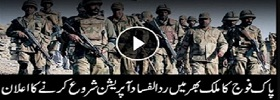 Operation Rad Ul Fasad launched
