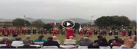 Turkish Military Band performing in Pak