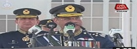 Air Chief addressing in Risalpur