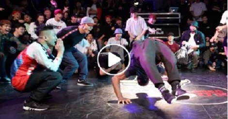 B-Boys Junior Turning it Up!