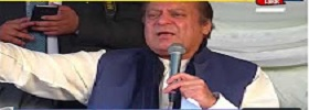 Nawaz Addressing in Chakwal