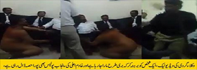 Lawyers brutally beating a men