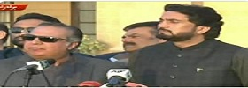 Governor & Afridi Media Talk