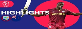 NZ vs WI Match 29 ICC WC 2019
