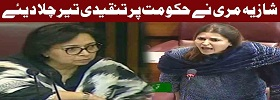 Shazia Marri Speech in Assembly