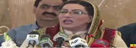 Firdous Ashiq Awan Addressing