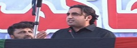 Bilawal Bhutto Addressing Workers