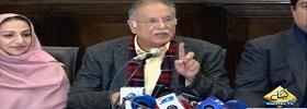 Pervez Rashid Press Conference
